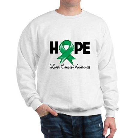 Hope Liver Cancer Sweatshirt