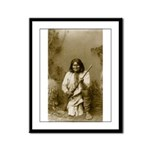 Geronimo (image only) Framed Panel Print