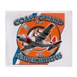 US Coast Guard Semper Paratus Throw Blanket