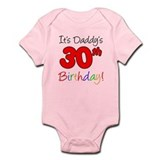 It's Daddy's 30th Birthday Onesie