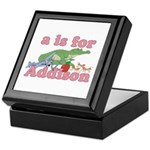 A is for Addison Keepsake Box