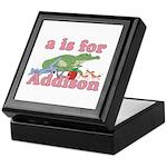 A is for Addison Keepsake Box