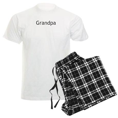 Grandpa Men's Light Pajamas