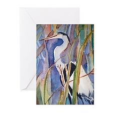 heron Greeting Cards (Pk of 20)