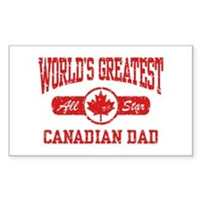 Canadian Dad Decal