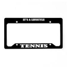 Tennis Sports License Plate Holder Frame