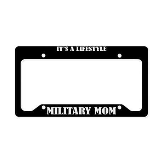 Military Mom Gift License Plate Holder Frame