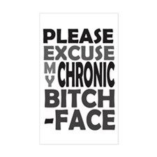 'Chronic Bitch-Face' Decal