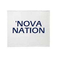 Cute College basketball Throw Blanket
