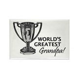 Great Grandpa B&W Trophy Rectangle Magnet