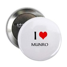 I Love Munro Button