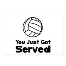 Volleyball Served Postcards (Package of 8)