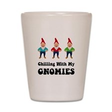 Gnomies Shot Glass