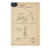 Velocipede Patent 1869 Postcards (Package of 8)