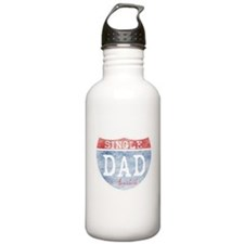 SINGLE DAD AVAILABLE Water Bottle