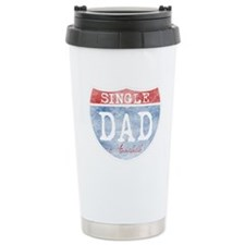 SINGLE DAD AVAILABLE Ceramic Travel Mug