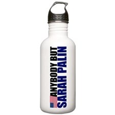 Anybody But Palin Water Bottle