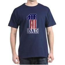 No. 1 Dad USA T-Shirt