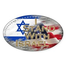 I stand with Israel - Decal