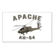 Apache AH-64 Decal