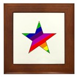 Star Bright Framed Tile