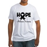 Hope Ribbon Melanoma Shirt