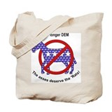 Ex DemocRAT Tote Bag