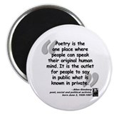 "Ginsberg People Quote 2.25"" Magnet (100 pack)"
