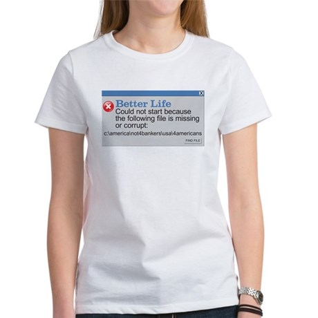 Better Life - America Women's T-Shirt