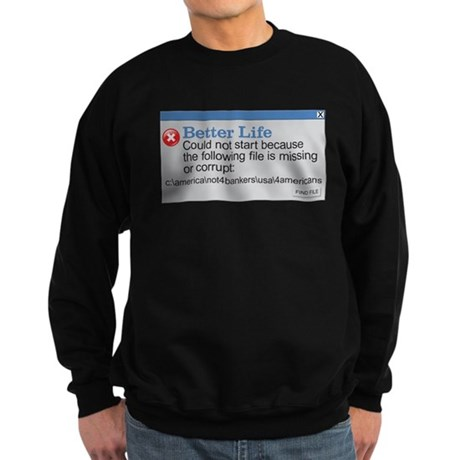 Better Life - America Sweatshirt (dark)