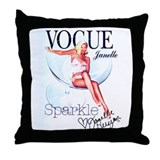 Sparkle Janelle Throw Pillow