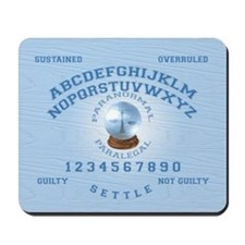 Paranormal Paralegal Mousepad
