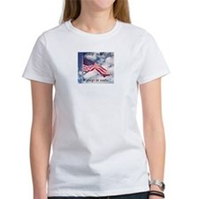 Cute Anti illegal immigration Tee
