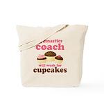 Funny Gymnastics Coach Tote Bag