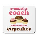 Funny Gymnastics Coach Mousepad