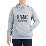 I Love Irish Wolfhounds Women's Zip Hoodie