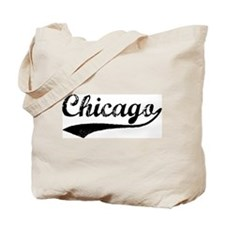 Vintage Chicago Tote Bag