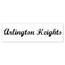 Vintage Arlington Heights Bumper Bumper Sticker