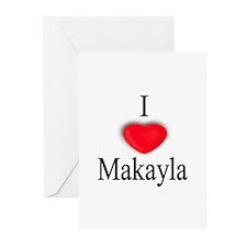 Makayla Greeting Cards (Pk of 10)