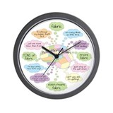 Cute Quilter Wall Clock