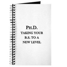 Ph.D. - Taking your B.S. to a new level Journal