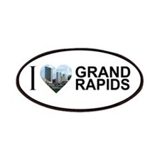 I Heart Grand Rapids Patches