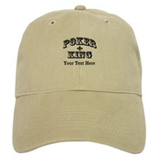 Customizable Poker King Baseball Cap