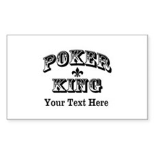 Customizable Poker King Decal