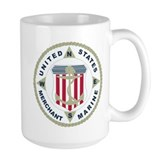 United States Merchant Marine Emblem (USMM) Mug