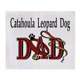 Catahoula Leopard Dog Throw Blanket