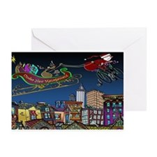 Santa Under New Management Greeting Cards (Pk of 1