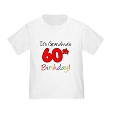 It's Grandma's 60th Birthday T