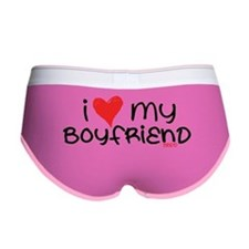 I Heart My Boyfriend Women's Boy Brief