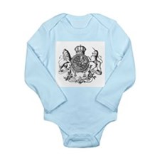 Heraldry Long Sleeve Infant Bodysuit
